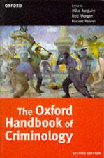Social Science Criminology Adult Learning & University Books