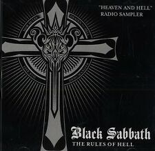 BLACK SABBATH Heaven And Hell Radio Sampler 2008 US RARE PROMO CD