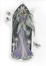 WHITE MAGICK FAERY Fairy Sticker Faerie Car Decal Jessica Galbreth pagan wicca