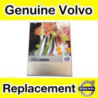 Genuine Volvo Service Record Book (All 2010 Models) V70 S40 V40 V50 C30 C70 XC90