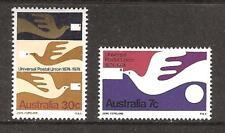 Australia # 597-8 Mnh Carrier Pigeon