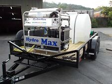 Hot Water Pressure Washer Trailer Mounted-8.5gpm,3500psi-Diesel Engine