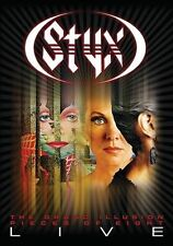 The Grand Illusion/Pieces of Eight: Live [1DVD/2CD] by Styx (CD, Jan-2012, 3...