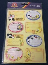 Looney Tunes - School Book Labels - 32 In Pack