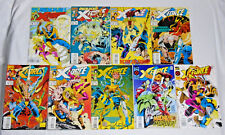 X-FORCE #32-37 39-41 * Marvel Comics Lot *  9 Comics Cable Domino 33 34 35 36 40