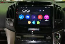 """Toyota Landcruiser 2007 -2014 200 series 10"""" Android 7.0 GPS system"""