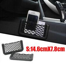 In Car Tidy Black Storage Net Pouch Money Phone Sunglasses Holder Pocket NEW