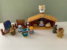 FISHER PRICE LITTLE PEOPLE NATIVITY SET    2002