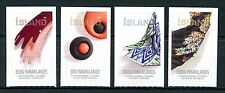 Iceland 2017 MNH Contemporary Design VIII Textiles 4v Set Stamps