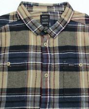 RVCA Ludlow Plaid Flannel Shirt Mens 2XL