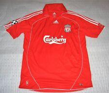 Adidas Liverpool FC #8 Steven Gerrard Soccer Jersey Red Size XL