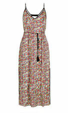 City Chic Summer Beach Party Maxi Dress Size M 18 20 Black Tie Belt