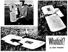 """Model Airplane Plans (UC): Whatzit 37"""" Combat for .35 Engine by Riley Wooten"""