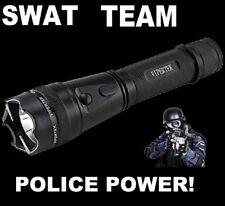 SWAT TEAM POLICE 1995 MILLION VOLT Stun Gun LED FlashLight With Taser Holster