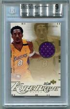 Kobe Bryant 2000 Upper Deck Lakers Championship Jumbos Jersey 80/100 BGS 9 Mint