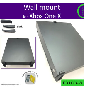 Xbox One X wall bracket. Mount. Holder. Made in the UK by us. Easy install.