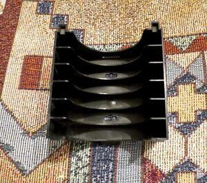 Cassette Tray Holder for 95-05 OEM Chevrolet Blazer S10 GMC Jimmy Black
