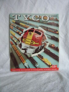 Vintage TYCO HO Scale Model Electric Trains Catalogue + Supplement