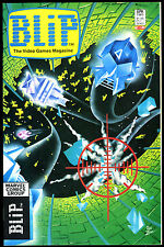 BLIP:The Video Games Magazine #3 1983 Tips ColecoVision Venture, Frogger,Dig Dug