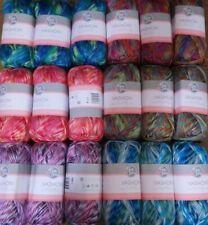 Lot of 3 Skeins, Fair Isle Vashon Yarn, 3.5 oz, 124 yds, You Choose Color