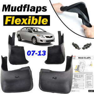 XUKEY Front Rear Mud Flaps Splash Guards Mudguards For Toyota Corolla Altis 2013