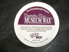 Museum Wax - removable holding adhesive  - hang dollhouse painting - 2fl oz.