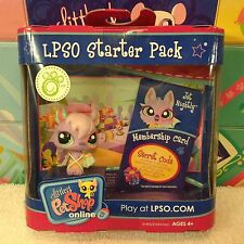 LITTLEST PET SHOP LPSO PURPLE VAMPIRE BAT #1695 JET NIGHTLY NEW w/ 1 FREE PET