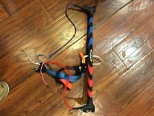 kite boarding Nash bar with chcken loop Blue and red used