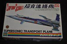 Captain Scarlett Supersonic Transport Plane Unbuilt Mint Anderson - IMAI ITB WH
