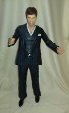 "SCARFACE - Al Pacino Tony Montana Blue Suit 18"" NECA Articulated Action Figure"