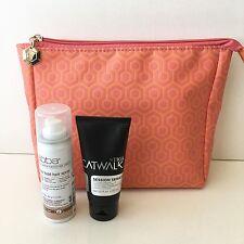 3pcs set ABBA FIRM HOLD HAIR SPRAY, Catwalk by Tigi styling cream, makeup bag