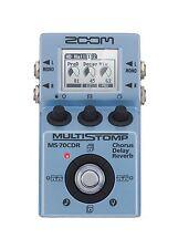 Zoom ZMS70CDR Multistomp Pedal - Chorus/Delay Reverb