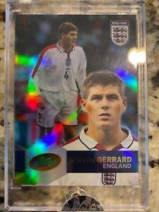 2004 eTopps STEVEN GERRARD English Football 1342 print ENGLAND SOCCER Liverpool