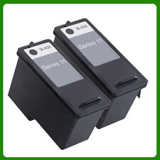 2 BLACK INK CARTRIDGE FOR DELL SERIES 11 948 V505 V505