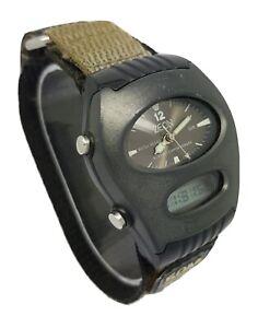 Very Rare Vintage Men's ZEON Digital analog Quartz Alarm Watch A