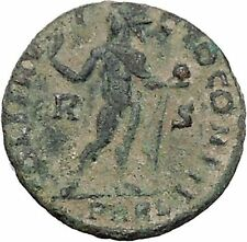 Constantine I The Great Ancient Roman Coin Sol Sun standing right RARE   i47041