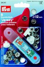 Prym 6 Druckknöpfe Jersey 12mm perlmuttfarb. 390117