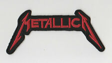 METALLICA     PATCH   ECUSSON  Patch thermocollant   rouge