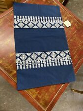 Pottery Barn Moroccan Embroidered Lumbar Pillow Sham Nwt