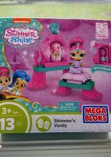 Shimmer and Shine  Mega Bloks  13 Piece Set  - Shimmer's Vanity  3+