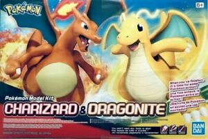 Charizard & Dragonite Figure Model Kit - Bandai, Brand New