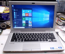 "Sony VAIO VPCSC1AFM 13.3"" intel i5  8GB RAM 500Gb hard drive blueray dvd"