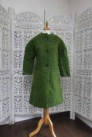 Apple green wool vintage medium size ladies coat - Brand new SKU15551