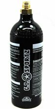 Gi 24oz Steel Co2 Paintball Tank 24 Oz with Pin Valve - Black