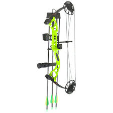 PSE Mini Burner RTS Package Lime Green 40 Lbs. Right Hand
