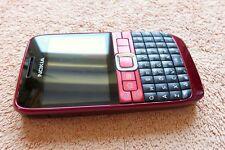 Nokia E63 Smartphone * Rot 2,4 Zoll * SEHR GUT * Symbian Bluetooth UMTS WLAN |4