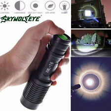 Super Bright 4000LM Police Flashlight Zoomable Cree T6 LED Tactical Torch Lamp