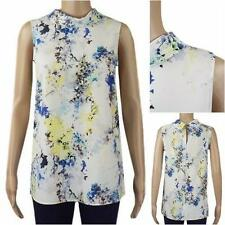 Polyester Polo Neck Formal Tops & Shirts for Women