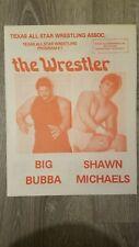 Texas All Star Wrestling Program #3.  June 30, 1985. Shawn Michaels HBK WWE SWCW