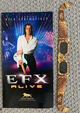 Rick Springfield EFX Show MGM Grand Las Vegas Program W 3D Glasses